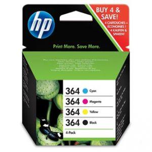 HP originální ink N9J73AE, HP 364 Combo pack, CMYK, HP Combo-pack,B8550,C5380,D5460