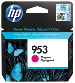 HP 953 purpurová inkoustová kazeta, F6U13AE