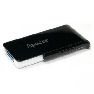 APACER USB Flash Drive, 3.0, 64GB, AH350 64GB Flash Drive, černý, AP64, GAH350B-1