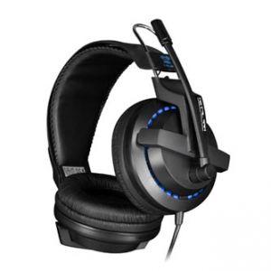 E-BLUE Cobra X 951, herní sluchátka s mikrofonem, černá, 3.5mm konektor