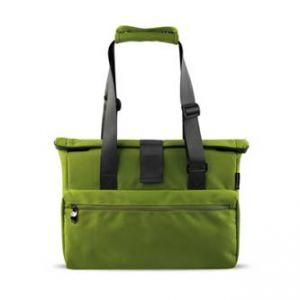 """Dámská taška na notebook, 15,6"""", super lehká, zelená z polyesteru"""