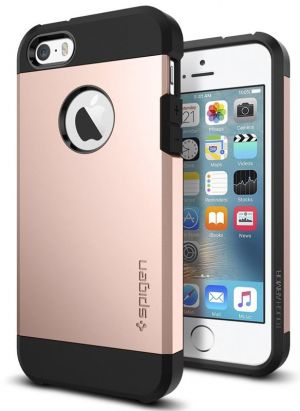 SPIGEN Tough ARMOR, rose gold - pro APPLE iPhone SE / 5s / 5