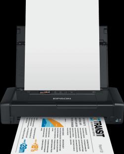 EPSON WorkForce WF-100W A4, 5.760 x 1.440, wifi Přenosná inkoustová tiskárna