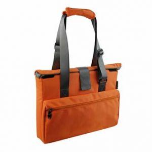 """Dámská taška na notebook, 15,6"""", super lehká, oranžová z polyesteru"""