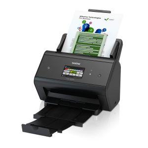 BROTHER ADS-3600W vysokorychlostní oboustranný skener dokumentů, dotyk. LCD, ethernet, WiF
