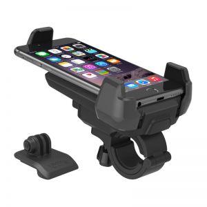 Držák na mobil IOTTIE Active Edge Bike Mount, black + GoPro adap. - vhodné na kolo jiné