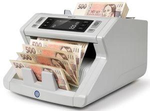 SAFESCAN 2250 Počítačka bankovek možností ověřování 3D ochranných prvků.