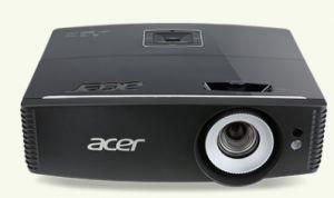 ACER P6600 DLP/3D/1920x1200 WUXGA/5000 ANSI lm/20 000:1/HDMI/MHL/USB/RJ45/Repro/ColorBoos