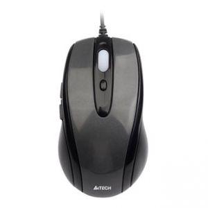 A4TECH Myš N-708X, optická, 6tl., 1 kolečko, drátová (USB), černá, 1600DPI, herní, V-Track