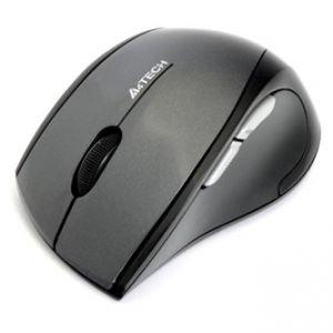 A4TECH Myš G7-750N-1, 2 ks AAA, 2.4 [GHz], optická, 5tl., 1 kolečko, bezdrátová, černá, 16