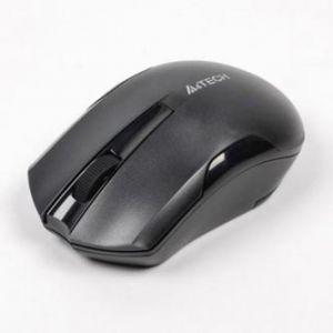 A4TECH Myš G3-200N, 1 ks AA, 2.4 [GHz], optická, 3tl., 1 kolečko, bezdrátová, černá, 1000D