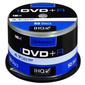 INTENSO DVD+R, 50-pack, 4.7GB, 16x, 12cm, Standard, cake box