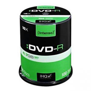 INTENSO DVD-R, 100-pack, 4.7GB, 16x, 12cm, Standard, cake box