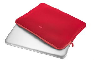 "Pouzdro TRUST Primo Soft Sleeve for 15.6"" laptops - red"