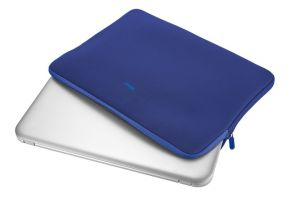 "Pouzdro TRUST Primo Soft Sleeve for 15.6"" laptops - blue"