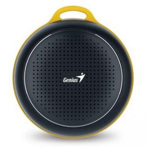 GENIUS SP-906BT, Li-Ion, reproduktor, 3W, ovládání hlasitosti, černý, přenosný, Bluetooth,