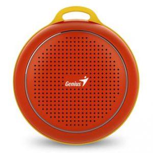 GENIUS SP-906BT, Li-Ion, reproduktor, 3W, ovládání hlasitosti, červený, přenosný, Bluetoot