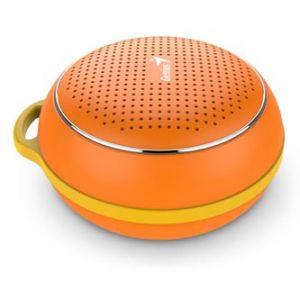 GENIUS SP-906BT, Li-Ion, reproduktor, 3W, ovládání hlasitosti, oranžový, přenosný, Bluetoo