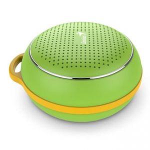GENIUS SP-906BT, Li-Ion, reproduktor, 3W, ovládání hlasitosti, zelený, přenosný, Bluetooth