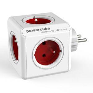 ORIGINAL - red 240V, 5 červená, POWERCUBE, dětská pojistka,uzemnění