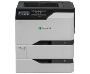 LEXMARK CS720dte color laser 38/38ppm, síť, duplex, dotykový LCD + dodatečný vstupní zásob