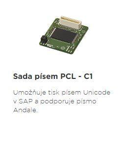 CANON příslušenství PCL FONT SET-C1 pro CANON LBP710Cx LBP712Cx LBP351x LBP352x
