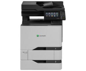 LEXMARK CX725dthe color laser MFP, 47/47ppm, síť, duplex, dotykový LCD, RADF, fax + HDD +