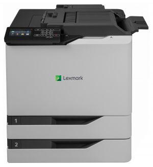 LEXMARK CS820dtfe color laser 57/57ppm, síť, duplex, dotykový LCD + dodatečný vstupní záso