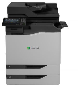 LEXMARK CX820dtfe color laser MFP, 50/50ppm, síť, duplex, dotykový LCD, DADF, fax, HDD + 2