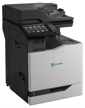 LEXMARK CX825de color laser MFP, 52/52ppm, síť, duplex, dotykový LCD, DADF, fax, HDD
