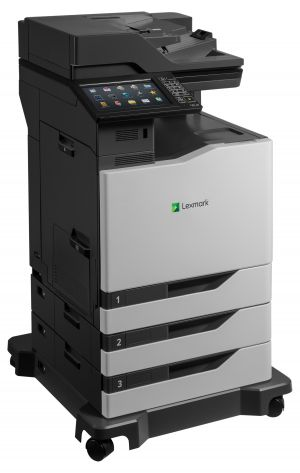 LEXMARK CX860dte color laser MFP, 57/57ppm, síť, duplex, dotykový LCD, DADF, fax, HDD + 2x