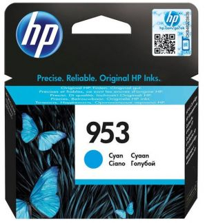 HP originální ink blistr, F6U12AE cyan, 700str., 10ml, No.953, HP OJ Pro 8218,8710,8720,8