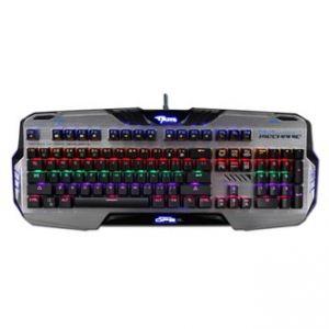 E-BLUE Klávesnice Mazer Mechanical 729, herní, černá, drátová (USB), US, mechanická, podsv
