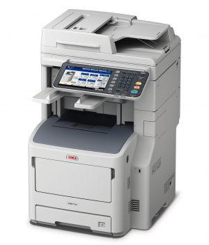 OKI MB770dfnvfax černobílá laserová multifunkce A4, RADF