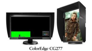 "EIZO 27"" CG277-BK, IPS, 2560 x 1440, 300 cd/m2, 16:9, 1000 : 1, 6 ms, DisplayPort, DVI-I,"
