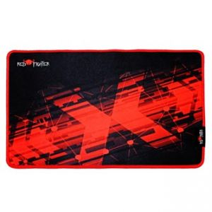 RED FIGHTER Podložka pod myš herní, černo-červená, 36 x 26 x 0.4 cm