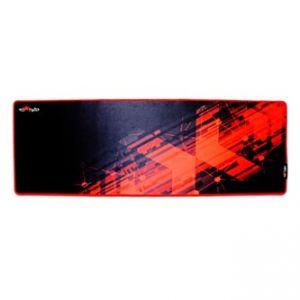RED FIGHTER Podložka pod myš herní, černo-červená, 78 x 27 x 0.4 cm