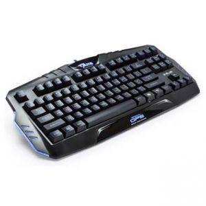 E-BLUE Klávesnice Mazer special OPS, herní, černá, drátová (USB), US, podsvícená