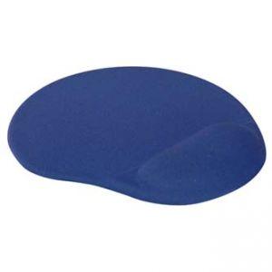 Podložka pod myš, ergonomická, gelová, modrá