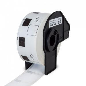 PEKRO kompatibilní s BROTHER DK-11221 papírové bílé ctvercové 23 x 23 mm 1000 ks