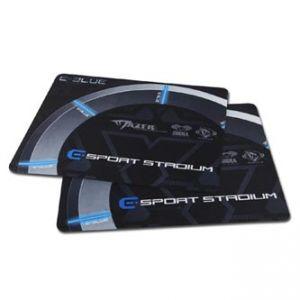 E-BLUE Gaming Arena Podložka pod myš herní, černo-šedá, 26x21x0,2mm