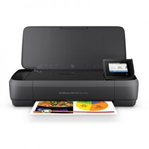 Přenosná multifunkce HP Officejet 252 Mobile AiO inkoustová barevná s wifi