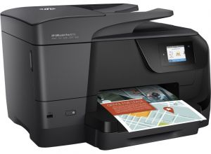 HP All-in-One Officejet Pro 8715 (A4, 22/18 ppm, USB 2.0, Ethernet, Duplex, Wi-Fi, Print/