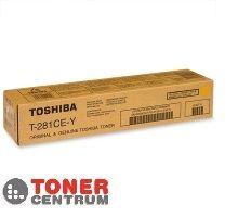 TOSHIBA Toner T-281c-EY, yellow (6AK00000107)