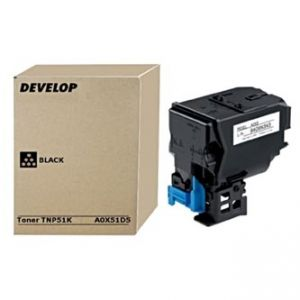 DEVELOP originální toner A0X51D5, black, 5000str., TNP51K, DEVELOP Ineo +3110