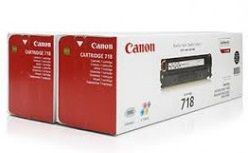 CANON Toner Cartridge CRG-718Bk black 2-Pack (2662B017) project
