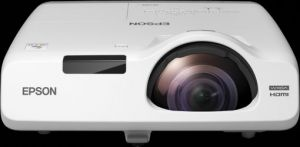 EPSON 3LCD 3chip projektor EB-525W 1280x800 WXGA/2800 ANSI/16000:1/HDMI/LAN/16W Repro/opti