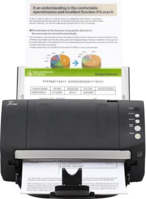 FUJITSU fi-7140 Skener A4, duplex, 40/80 ipm, color, USB, ultrazvuk, ADF 80