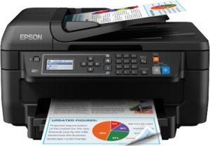 EPSON WorkForce WF-2750DWF Multifunkční bar. ink,4800x1200 dpi,33/20 ppm, A4, duplex, wifi