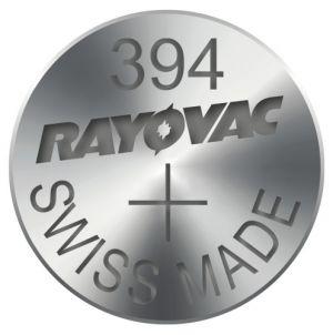 Baterie do hodinek, 394, 1.55V, RAYOVAC, blistr, 10-pack, cena za 1 ks baterie, na bázi ox